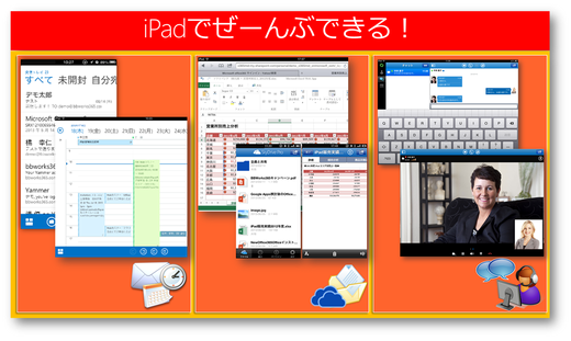 iPad Air/Miniなら☆Office 365の全部ができる!