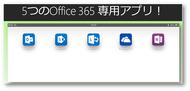 iPadで、ぜーんぶできる!5つのOffice 365 用iPadアプリ