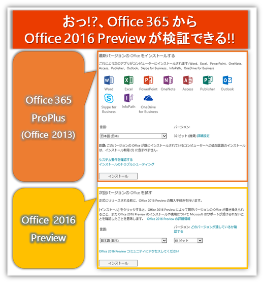 Office 2016 Preview提供開始!