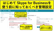 Skype for Businessにも必要な情報漏洩対策!