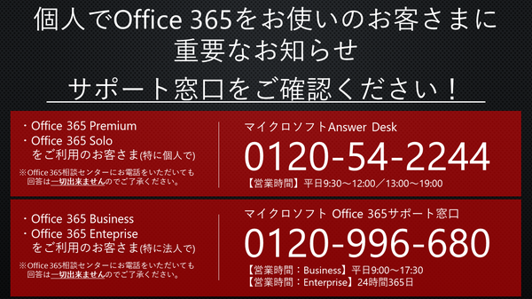 Office365サポート窓口一覧.PNG
