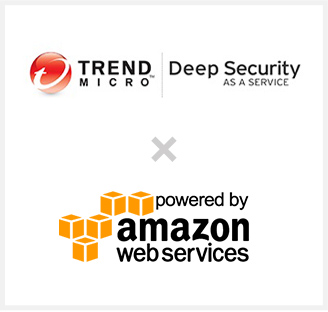 TREND MICRO Deep Security AS A SERVICE × powered by amazon web services