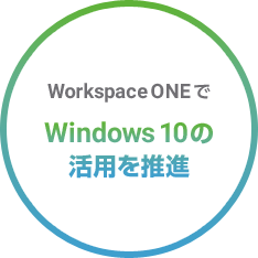 Workspace ONEでWindows10の活用を推進